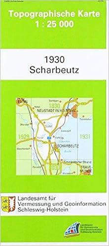 Scharbeutz 1 25 000 Amazon De Ba Cher