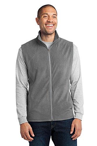 Port Authority Men's Microfleece Vest L Pearl (Mens Microfleece Vest)