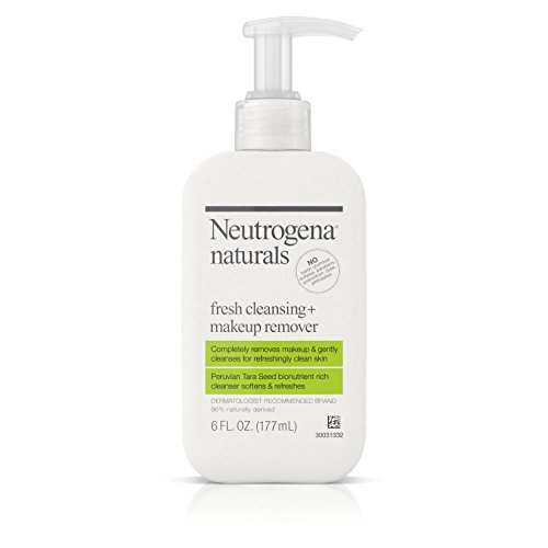 Price comparison product image Neutrogena Naturals Fresh Cleansing And Makeup Remover, 6 Fl. Oz, (Pack of 2)