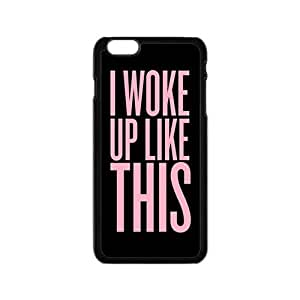 Pink Simple discourse Cell Phone Case for iPhone 6