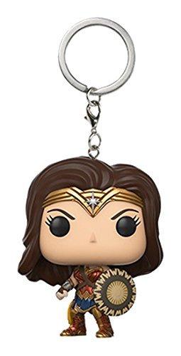 JPTACTICAL Famous Super Heros Movie Mini Figure Keychain (Wonder Woman) ()