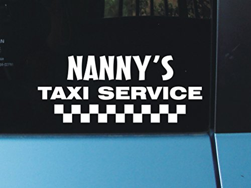 Reviews/Comments Nanny' Taxi Service Vinyl Decal Sticker