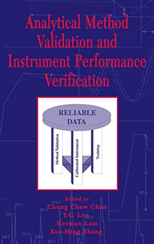 Analytical Method Validation and Instrument Performance Verification (Validation Of Analytical Methods For Pharmaceutical Analysis)