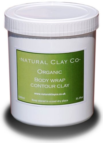 *SPECIAL OFFER* 1 litre/1000ml professional clay. Detox, inch-loss,Firming, bodywrap treatments approx 4-5 full wraps. Natural Clay Co.