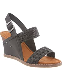 Bearpaw Women's Racquel Slingback Wedge Sandal