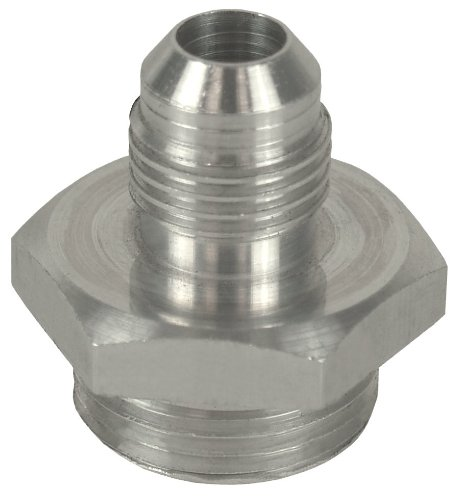 Derale 59106-6AN x 5/8'-18 Aluminum Adapter Fitting