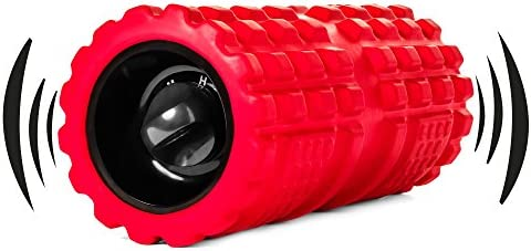 Vibrating Exercise Foam Roller 3 speed Will Have Your Muscles Relaxed and Recovered Faster Than Any Regular Foam Roller Relax and Heal Sore Muscles Using Our New Deep Tissue Vibration Technology.