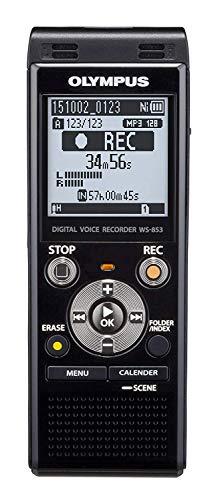Olympus Voice Recorder WS-853, Black (Digital Audio Recorder Sony)