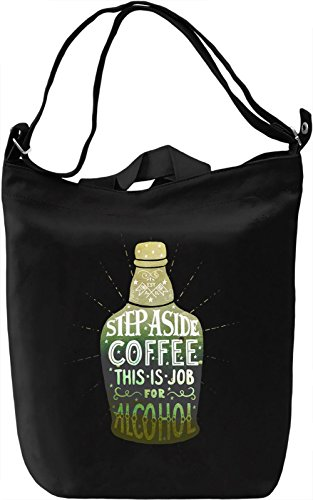 This Is Job Borsa Giornaliera Canvas Canvas Day Bag| 100% Premium Cotton Canvas| DTG Printing|