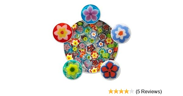 96 Coe Flower Millefiori Assortment