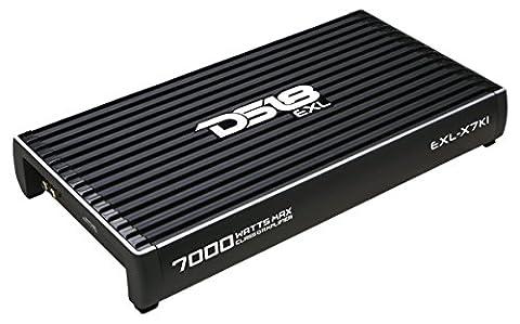 DS18 EXL-X7K1 Monoblock Class D 7000W Max Amplifier (Crossover 8 Ohm Speaker 2 Ohm)