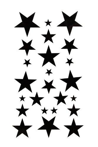 GGSELL King Horse Body painting temporary tattoos waterproof temporary tattoo black star
