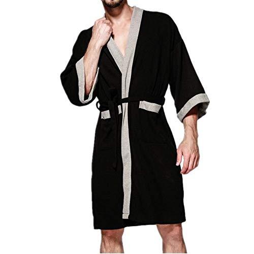 Azul Especial Vestido Baño Hombres Verano De Viaje Los Estilo Albornoz Primavera Homewear Bata Y yWzfROqSqw