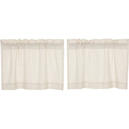 (VHC Brands Farmhouse Window Simple Life Flax Tier Pair, 24