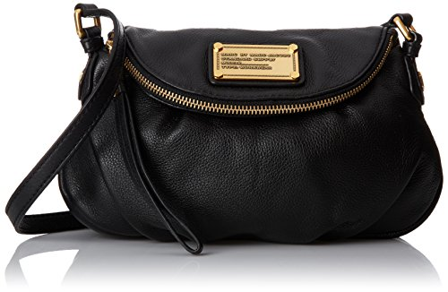 Marc by Marc Jacobs Classic Q Natasha Cross Body Black One - Jacobs Slip Marc Womens