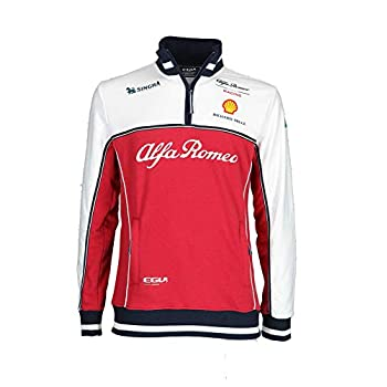 Image of Jackets Alfa Romeo Racing F1 2019 Men's Team Technical Sweatshirt (M)