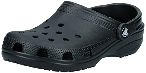 Crocs Women's Classic Clog|Comfortable Slip On Casual Water Shoe, Black, 8 M US Women / 6 M US Men from Crocs