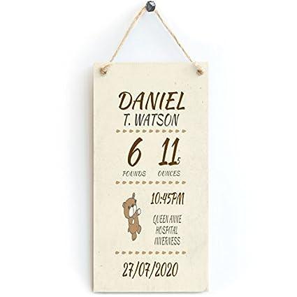 Amazon.com: Baby Boy ¡̄ s nombre, peso, tiempo, ubicación y ...