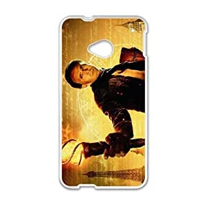 HTC One M7 White National Treasure phone case cell phone cases&Gift Holiday&Christmas Gifts NVFL7N8824252