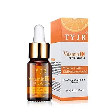 10 ml Tamaño portátil Vitamina Ácido hialurónico Facial Cuidado de la piel Hidratante Antiarrugas Antienvejecimiento Aclarar
