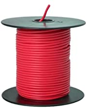 Southwire 55667423 Primary Wire, 18-Gauge Bulk Spool, 100-Feet, Red