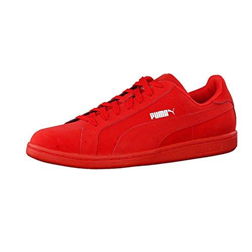 Puma - Puma Smash Buck Sneakers Basse Uomo Nero Total Black Nuova Collezione 2017 - 362836 01 Rosso