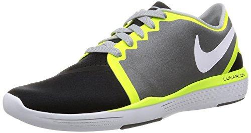 Nike Wmns Lunar Sculpt, Zapatillas de Gimnasia para Mujer Gris (Dark Grey / White-Black-Volt)