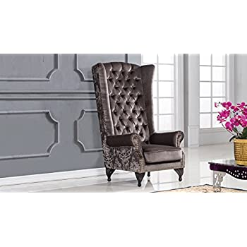 American Eagle Furniture Pennington Collection High Back Fabric Living Room Accent