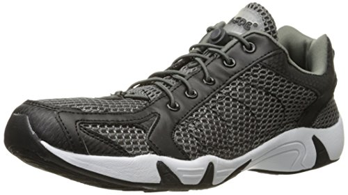 RocSoc Men's Water Shoe, Black/Grey, 12 M US