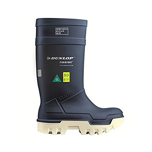 dcc72605e19 Purofort Thermo+ Full Safety Blue Shoes E662673 Size - 8