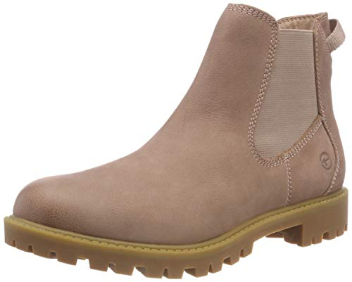 521 Pink 25401 Boots 21 Chelsea Tamaris Women's rose xaq7U7