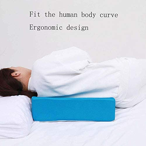 Verringerung der R/ückenschmerzen Erholung,Blau eine verbesserte Durchblutung ZHHB Bett-Keil-Kissen Erh/öhte Beinkissen zum Anheben Beine postoperativ und Verletzungen