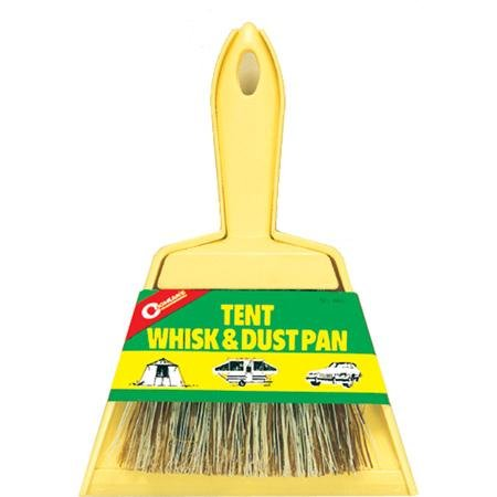 Coghlan's 8407 Tent Whisk And Dust Pan, 8-1/2