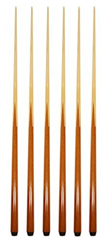 (Set of 6 Pool Cues New 57