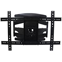 AuraBeam Tilting TV Wall Mount Bracket for Most 40- 70 TVs LED/LCD/Flat Screen Monitor (Up to 154 lbs. / VESA 400600mm / +5 Tilt / 40-400mm Distance to Wall)