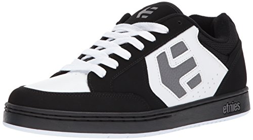 Etnies Mens Men's Swivel Skate Shoe, Black/White/Grey, 11.5 Medium US - Mens Swivel