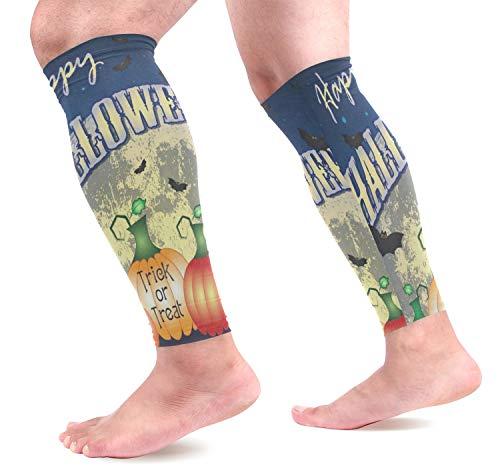 Leg Sleeve Festive Theme of Halloween Compression Socks