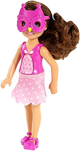 [Barbie Sisters Chelsea and Friends Doll, Owl] (Barbie Pop Princess Costume)