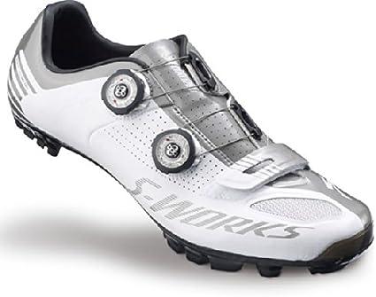 Specialized S Works XC MTB Schuhe | WhiteSilver 45,5