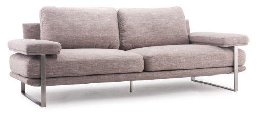 Zuo Modern Jonkoping Sofa, Wheat