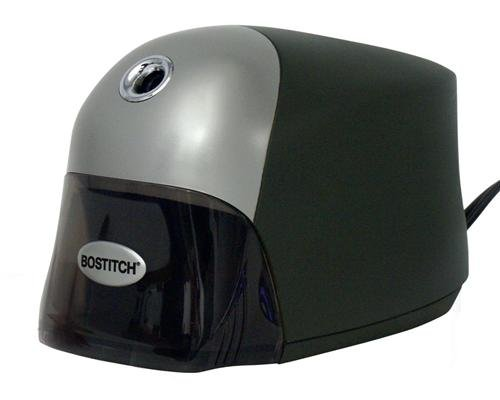 Bostitch QuietSharp  Executive Electric Pencil Sharpener, Black (EPS8HD-BLK)