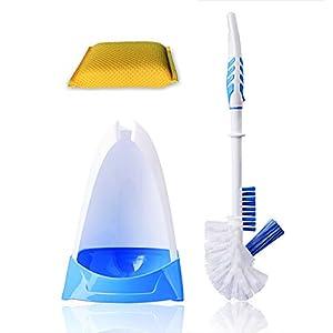 Toilet Brush and Holder,Toilet Bowl Cleaner Brush