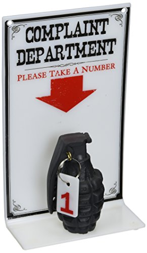 BigMouth Inc The Complaint Department Sign, Hilarious Sign for Your Desk or Office, Prank Your ()