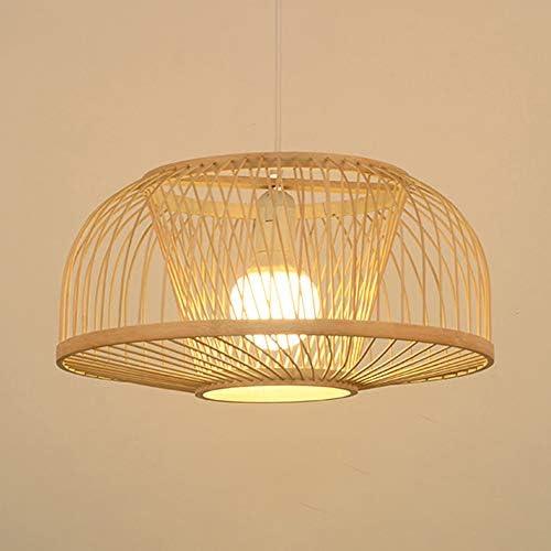 Small Bamboo Lighting Width 20cm  Height 25cm- 110-240V50-60Hz Rural Lighting Free Shipping Worldwide Rustic Pendant Light