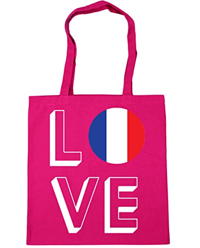 Love litres Gym Shopping 10 Fuchsia Beach France 42cm Tote x38cm HippoWarehouse Bag ZTAdxFF