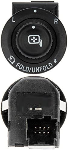 Power Mirror Control Switch 7L1Z17B676AA fits for 2007-13 Ford Expedition Mirror Switch Dorman 901-342 2007-14 Ford F150 Truck Mirror Switch Dorman 901-342 2008-15 Ford F25