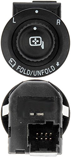 APDTY 012453 Master Power Mirror Control Switch w/ Power Folding Mirrors Fits Select 2007-2016 Ford Expedition, F-Series (Includes Super Duty) / Lincoln Mark LT, Navigator (Replaces 7L1Z17B676AA) (Truck Switch Power Mirror)