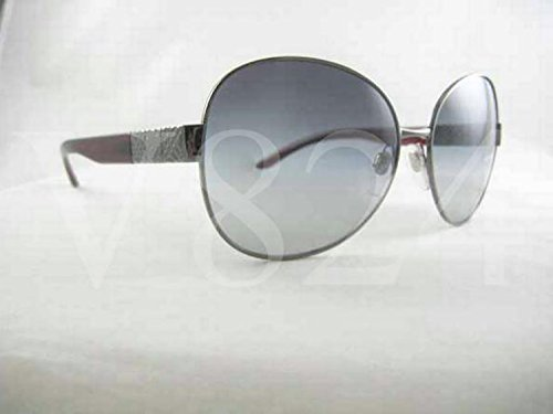 Burberry Sunglasses Be 3041 Be3041 B3041 Gunmetal Burgundy Be3041-1003/11
