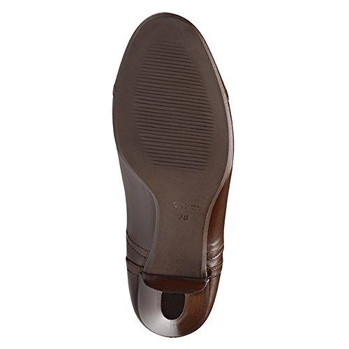 Evita Shoes - Zapatos de vestir de Piel para mujer Marrón - marrón oscuro