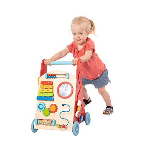 Fat Brain Toys Baby Walker - Busy Baby Deluxe Walker